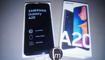 Samsung Galaxy A20 2019 unboxing