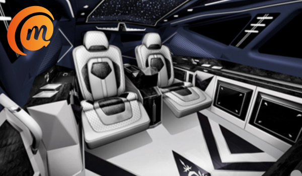 Luxurious interior of the Karlmann King