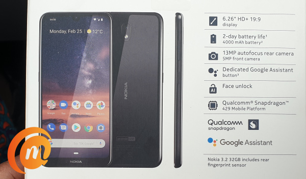 Nokia 3.2 is in for review 4