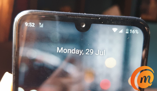 Nokia 3.2 review selfie camera in waterdrop notch