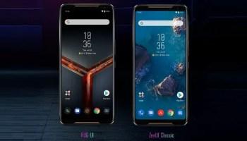 ASOS ROG Phone II with dual UI