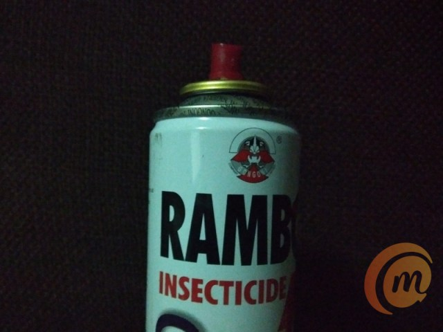 Rambo insecticide + shot on Nokia 3.2 camera with no flash
