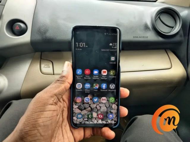 Samsung Galaxy S9 Plus - shot on Nokia 3.2 daylight