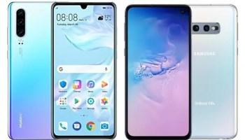 Huawei P30 vs Samsung Galaxy S10e comparison review