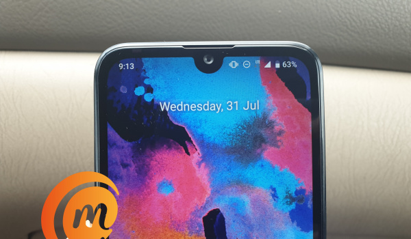 Nokia 2.2 with waterdrop notch