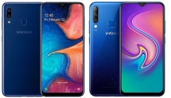 Samsung Galaxy A20 vs Infinix s4 comparison review