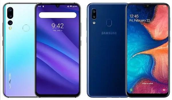 UMIDIGI A5 Pro vs Samsung Galaxy A20