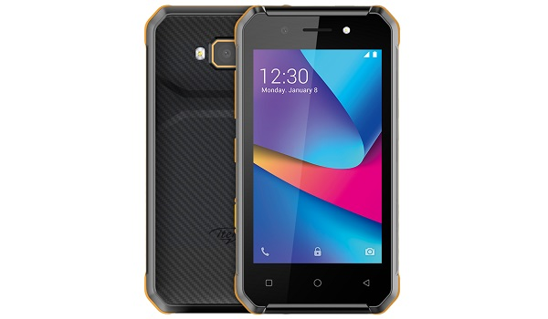 itel A14 Max in yellow