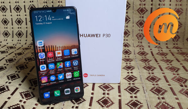 Huawei P30 with box