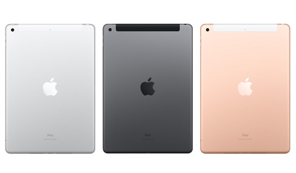 Apple iPAd 2019 7th generation back