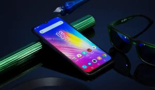 Infinix hot 8 Android 9 pie smartphone