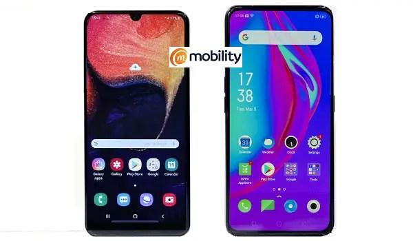 Samsung Galaxy A70 vs OPPO F11 Pro comparison review