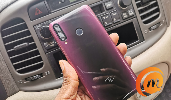itel s15 pro in hand