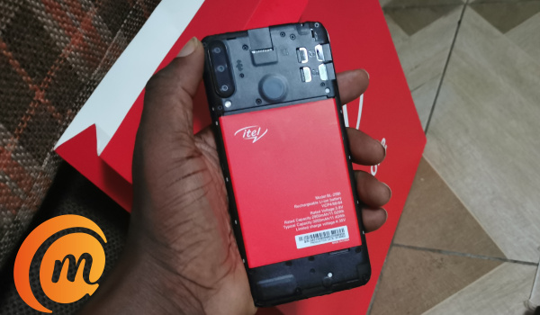 itel s15 pro open back cover