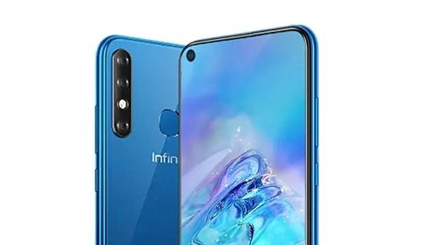 Infinix S5 cameras