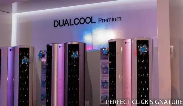 LG ThinQ Dualcool Premium AC