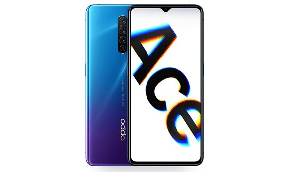 OPPO Reno Ace front and back