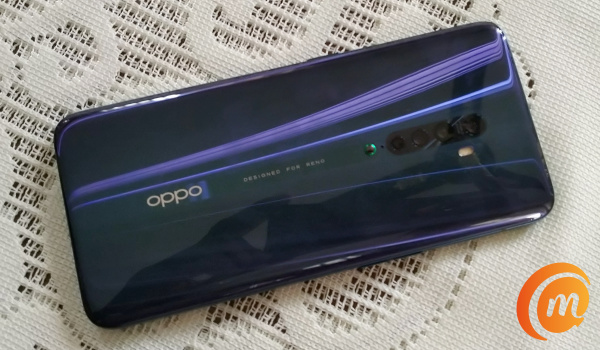 Oppo reno2 back side
