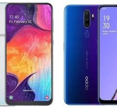 Samsung Galaxy A50 vs OPPO A9 2020