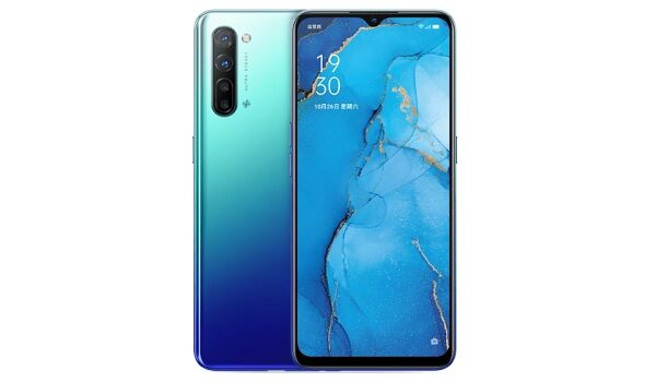 OPPO Reno3 has a waterdrop notch