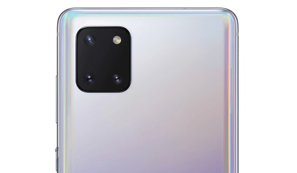 Samsung Galaxy Note10 lite rear camera