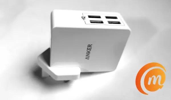 Anker PowerPort 4 Lite 4-port usb wall charger
