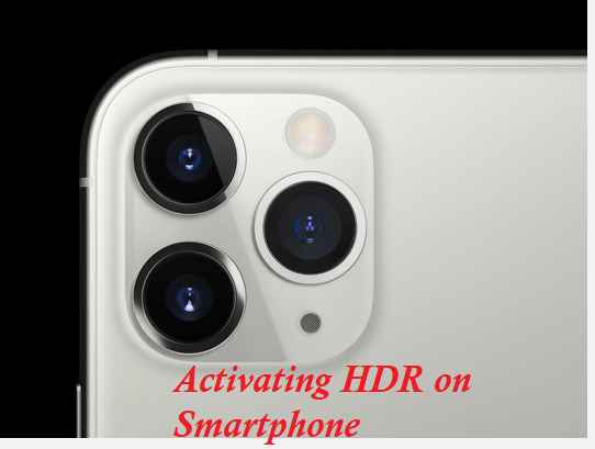 About HDR on Smartphone Camera