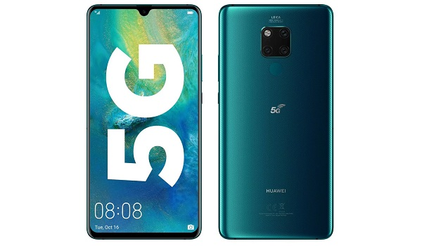 Huawei Global 5G Smartphone Shipments In 2019