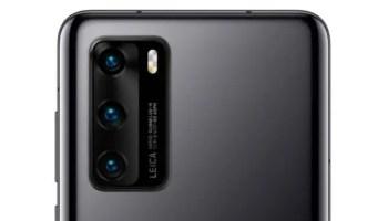 Huawei P40 series Leica triple camera