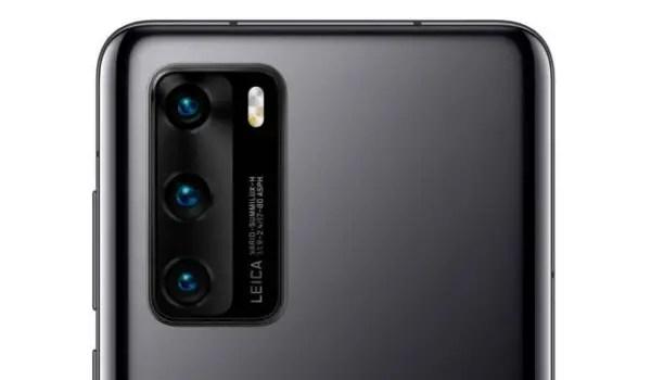 Huawei P40 Leica triple camera