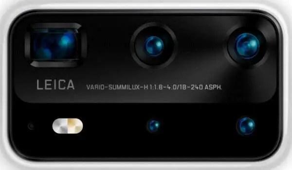 Huawei P40 Pro Premium Penta camera