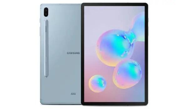Samsung Galaxy Tab S6 5G__- first 5g tablet