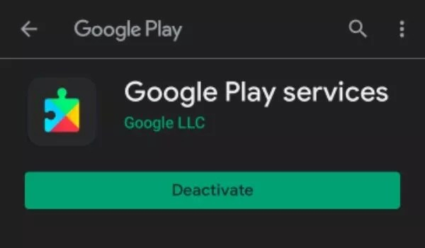 Update the Google Services and Play Store