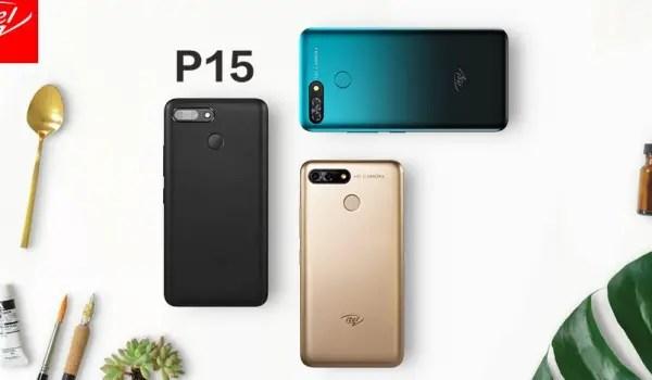 itel P15 colours