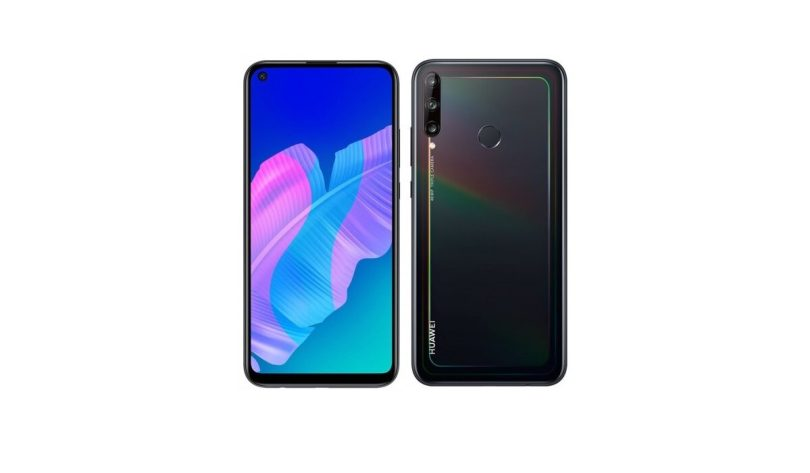 Huawei Y7p front and back