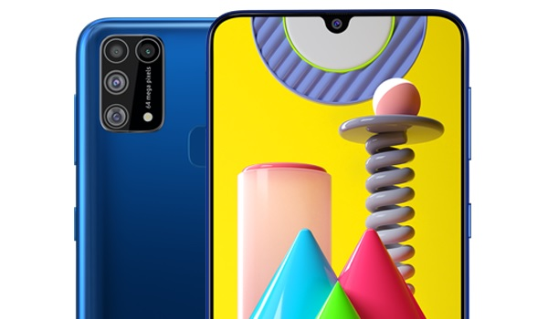 Samsung Galaxy M31 64MP quad camera and 32MP selfie camera