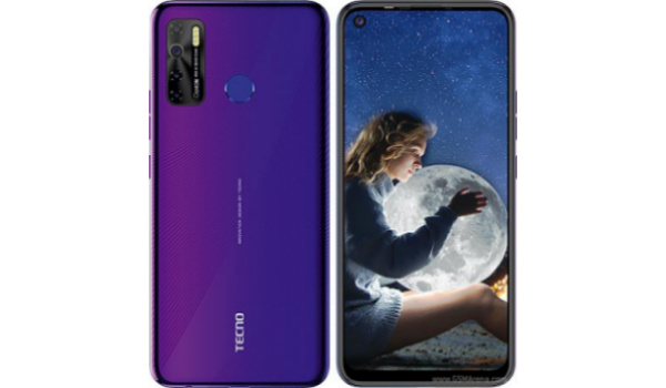 tecno camon 15 front and back