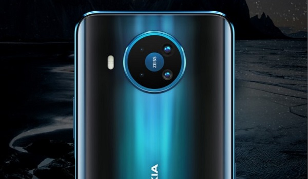 Nokia 8.3 5G Zeiss 64MP quad camera