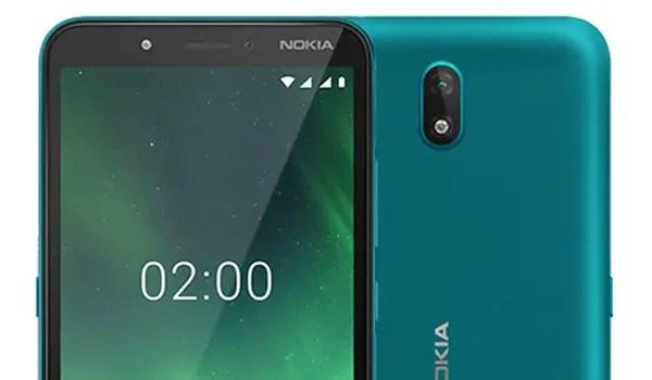 Nokia C2 cameras