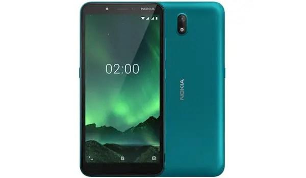 Nokia C2 cyan