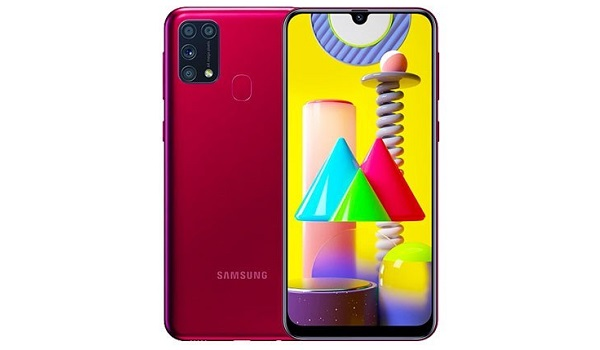 Samsung Galaxy A31 red