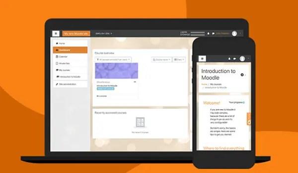 Moodle online learning platform