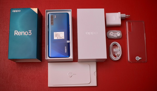 OPPO reno3 Pro unboxing contents