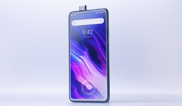 umidigi s5 pro pop-up selfie camera
