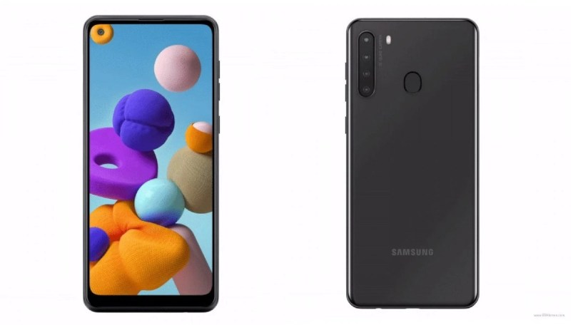 Leaked Renders of the Samsung Galaxy A21