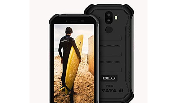 BLU Tank Xtreme Rugged 5.5 front and back
