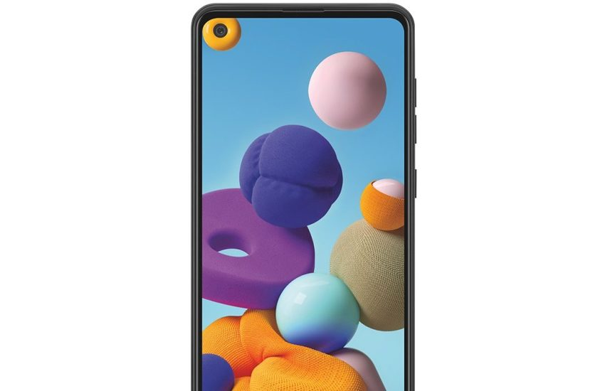 Samsun Galaxy A21s Android cell phone
