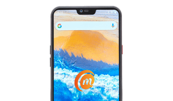 Teracube front wide notch display