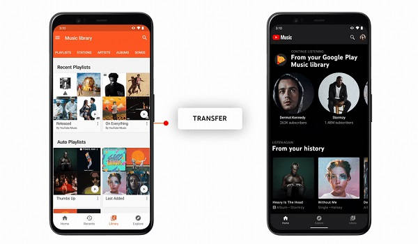 google play music gives way to youtube music