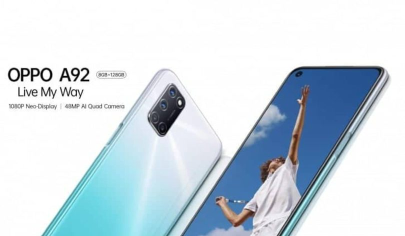Oppo A92 Launched